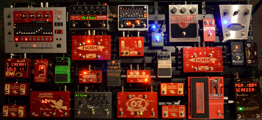 Show us your MIDI PedalBoard | The Gear Page
