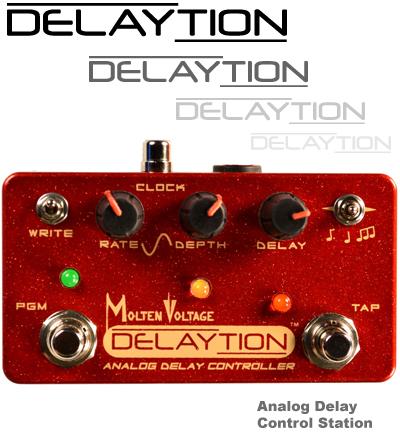 Delay Tap Tap Tempo Analog Delay