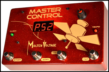 Master Control Midi Pedalboard Clock And Brain By