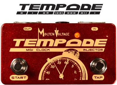 TEMPODE™  :  PedalBoard MIDI Clock Generator / Injector